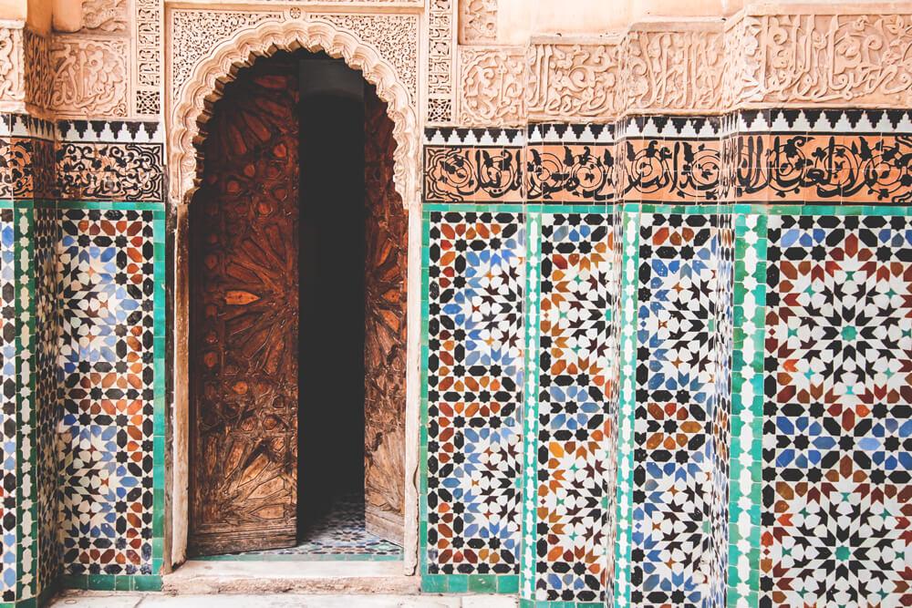 Ben-Youssef-Medersa-Koranschule-Marrakesch