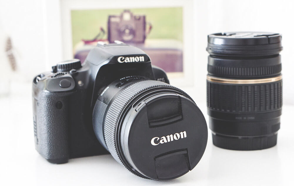 Canon-650d-Spiegelreflex-Kamera-Objektive