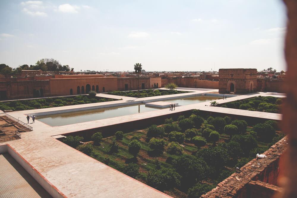El-Badi-Palast-Marrakesch-Marokko-Ruinen