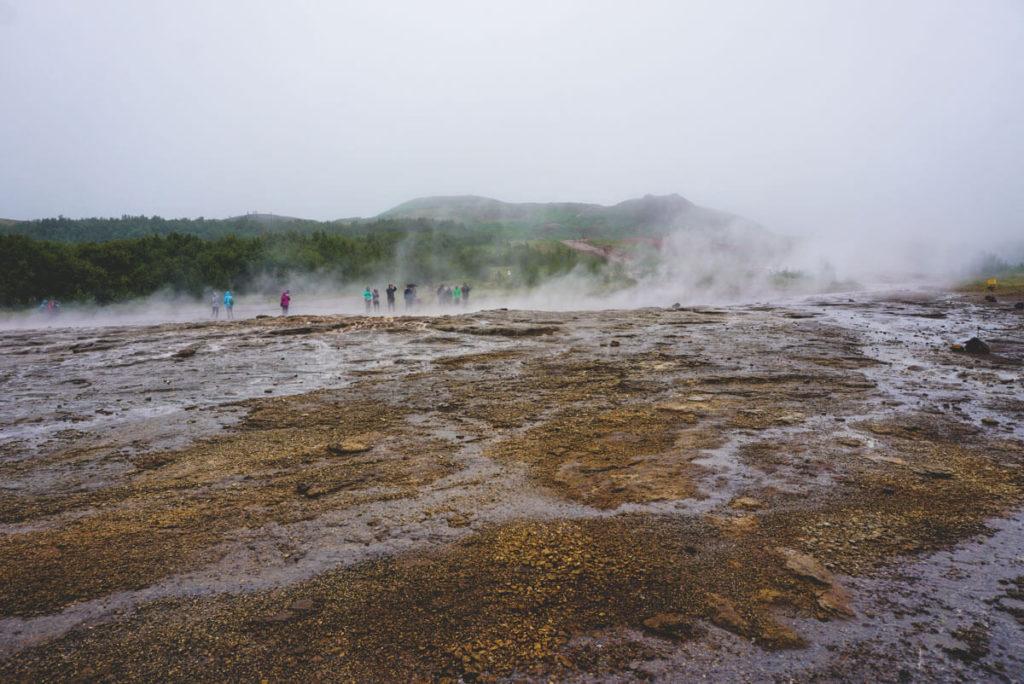 Golden Circle Island - Der Große Geysir