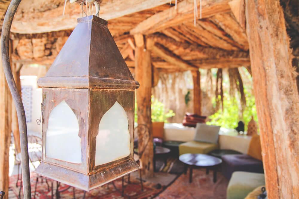 Kasbah-Azul-Agdz-Marokko-Rundreise-Terrasse-Garten