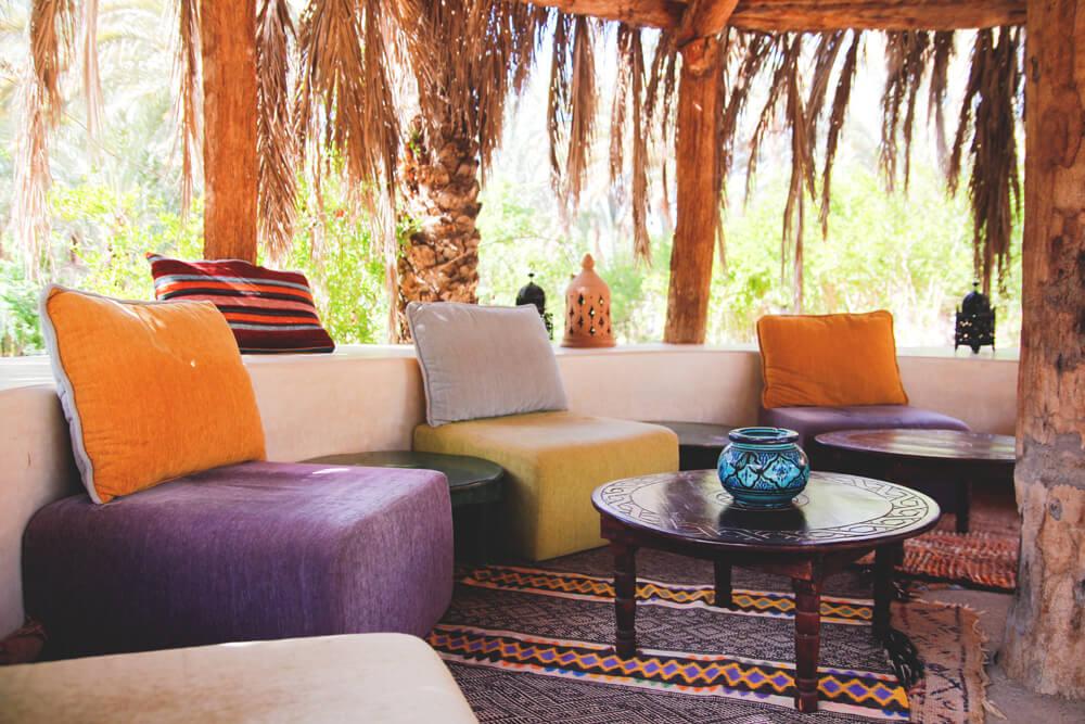 Kasbah-Azul-Agdz-Marokko-Rundreise-Aussenbereich-Pool-Relaxing
