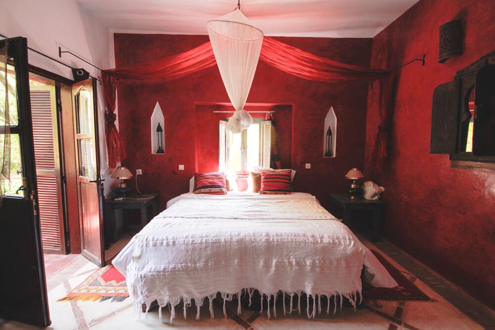 Kasbah-Azul-Agdz-Marokko-Rundreise-Doppelzimmer-Terrasse