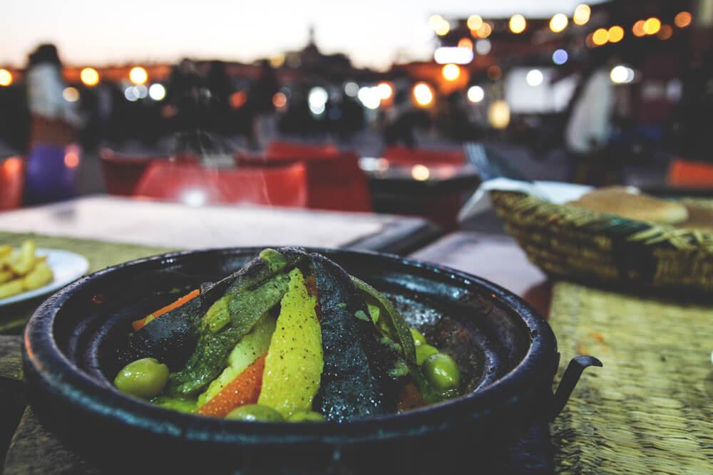 Marokko-Essen-Marrakech-Gemuese-Food