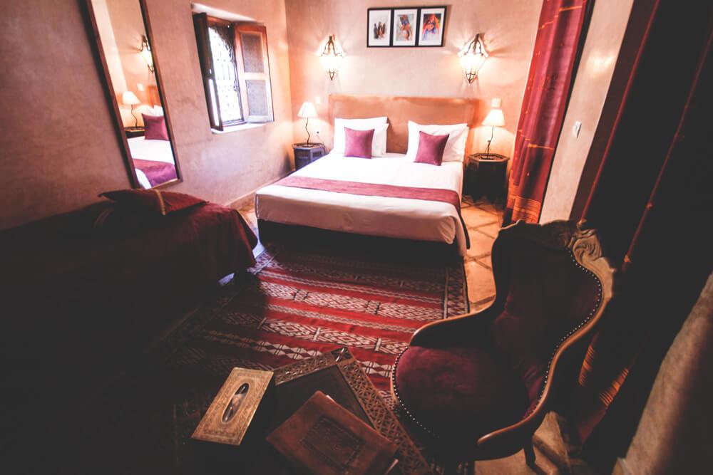 Marokko-Marrakesh-Riad-Medina-Souks-Orientalisch-Hotel