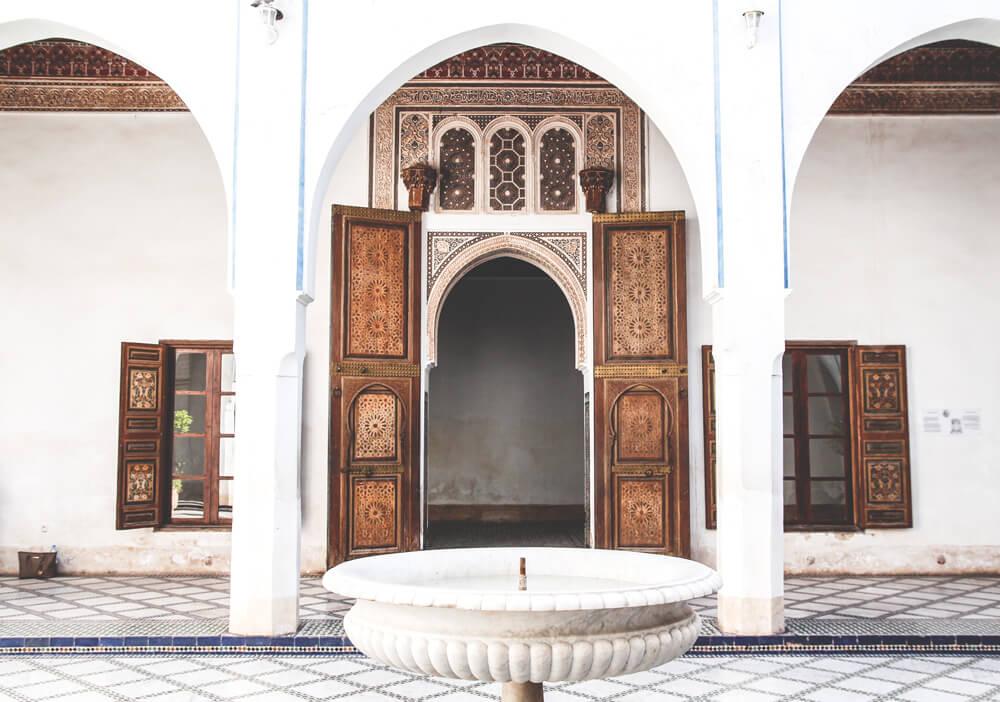 Marrakesh-Riad-Palace-Bahia-Architektur