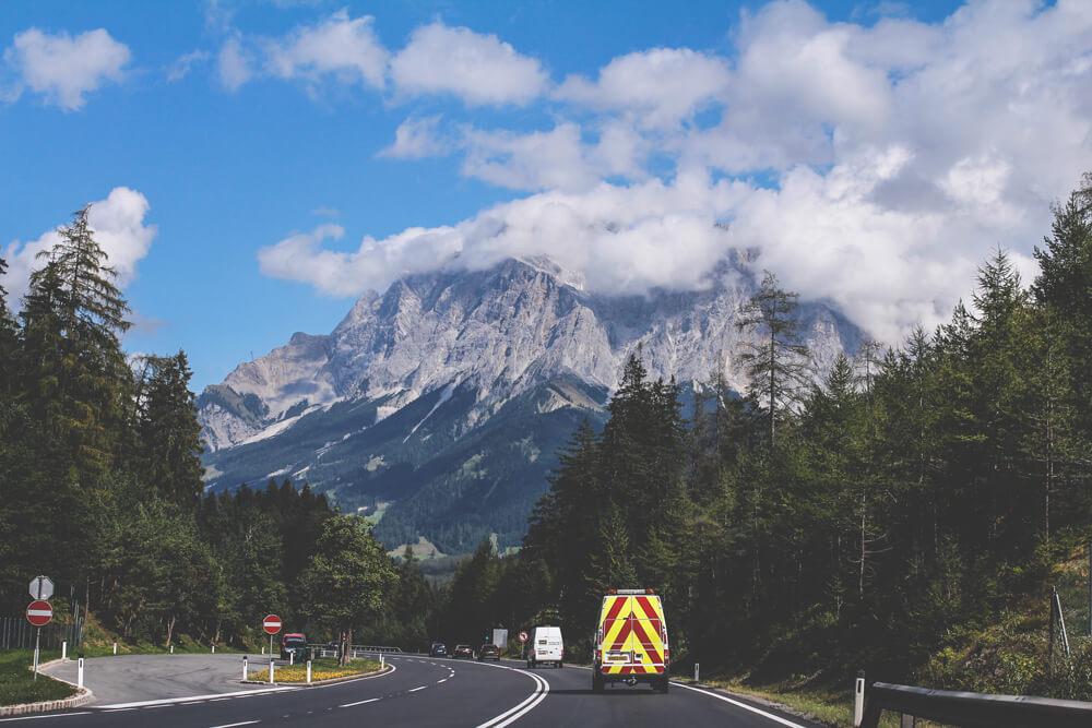 Oetztal-Oesterreich-Tirol-Berge-Anreise