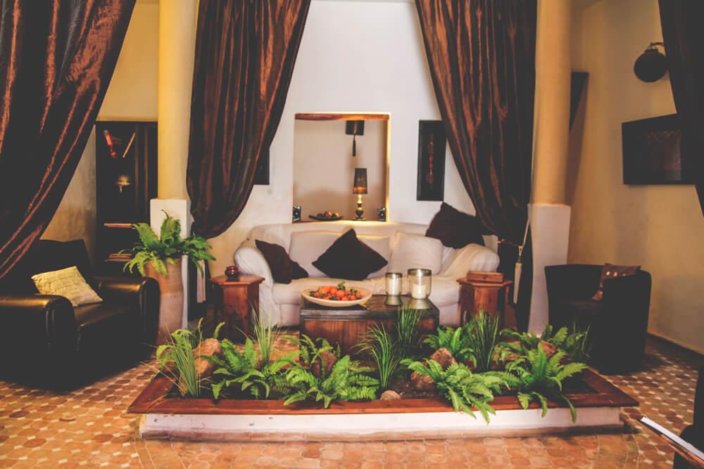 Riad-Lyon-Mogador-Essaouira-Marokko-Eingangsbereich