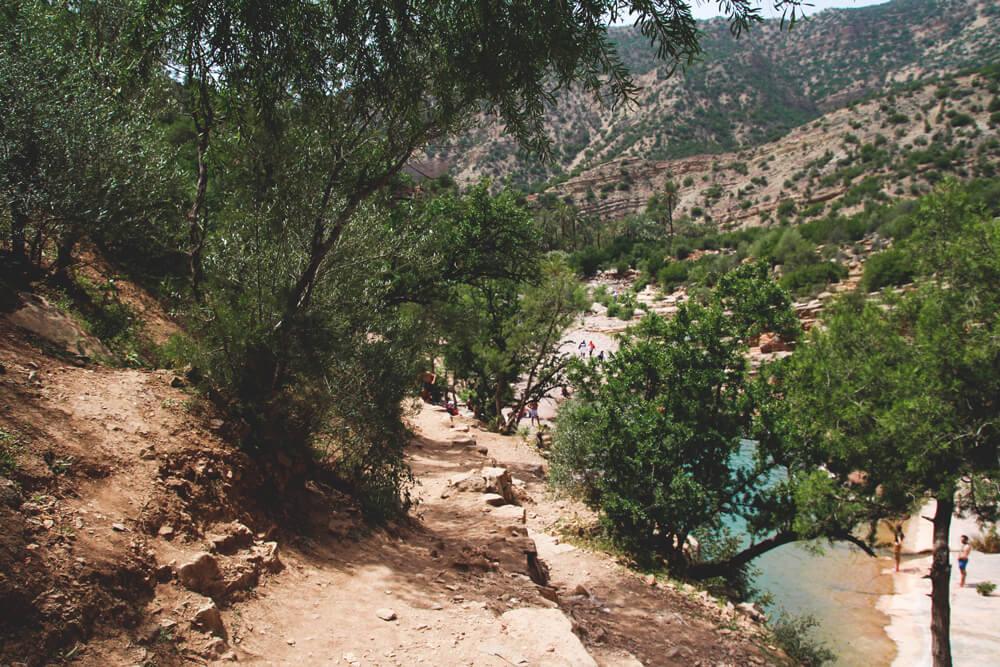 Taghazout-Paradise-Valley-Marokko-Agadir-Oase-Tal-Pools