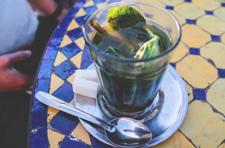 Tee-Marokko-Marrakesh-Mintze-Tea