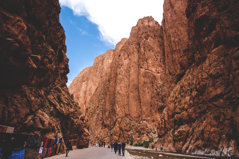 Todra-Schlucht-Tinghir-MarokkoRundreise