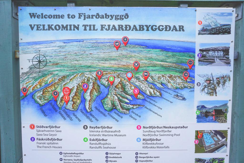 island-rundreise-osten-ostfjorde-karte