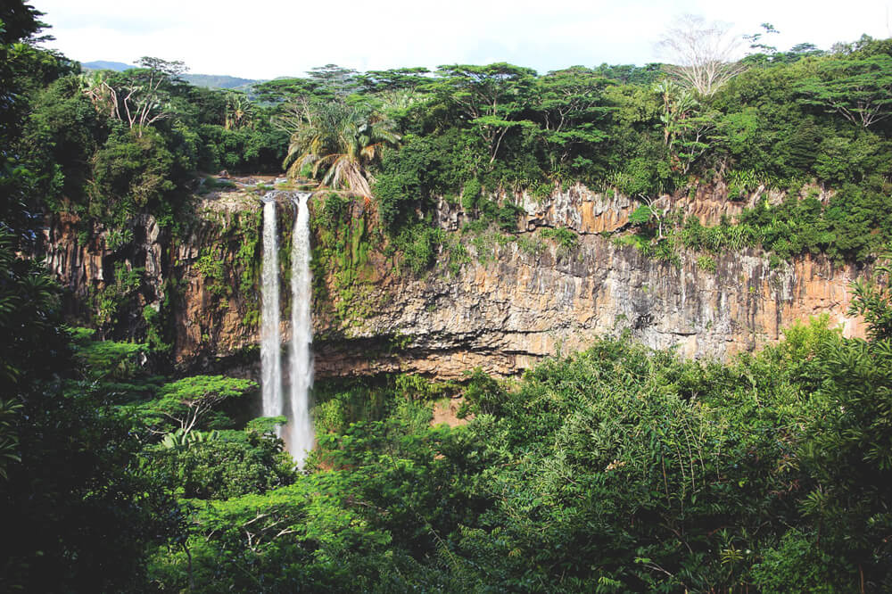 Mauritius Ausflüge Chamarel Waterfall Black River Park