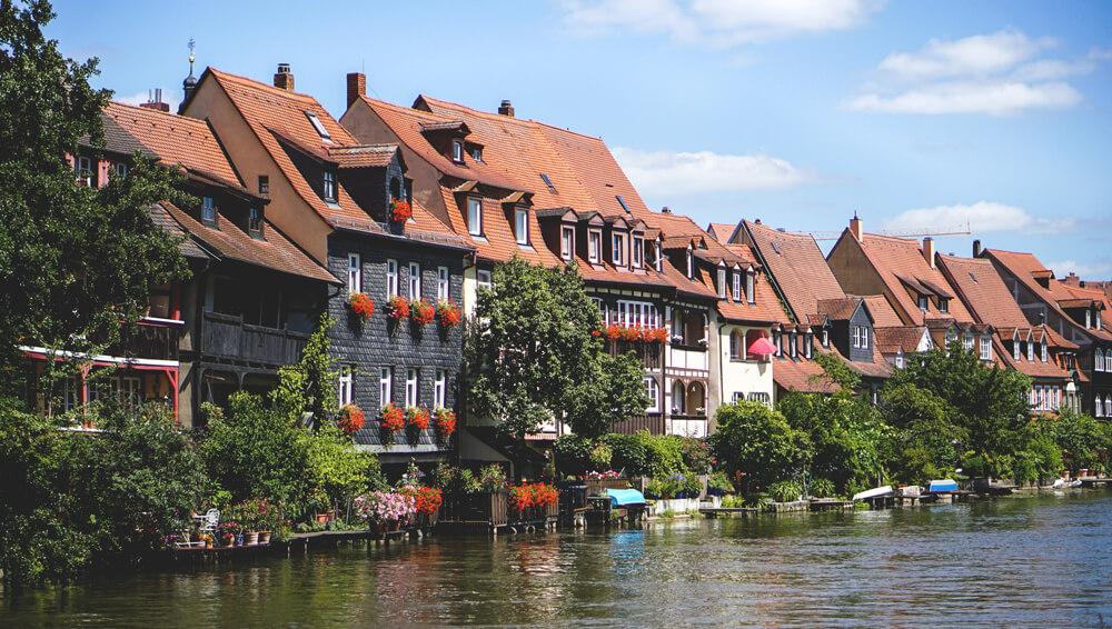 Bamberg-Bayern-Klein-Venedig-Fischerei
