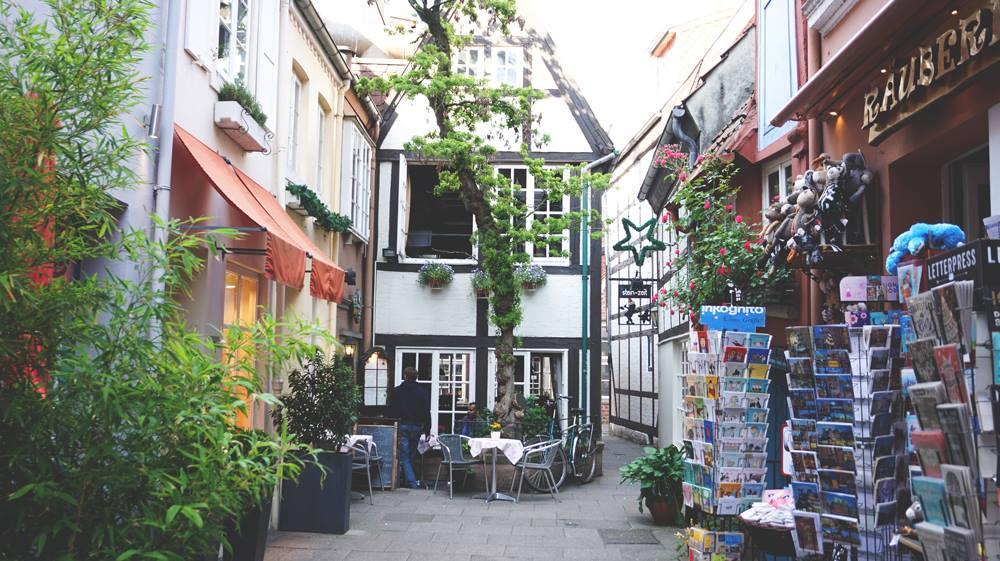 Bremen-Schnoorviertel-Schnoor-Gassen