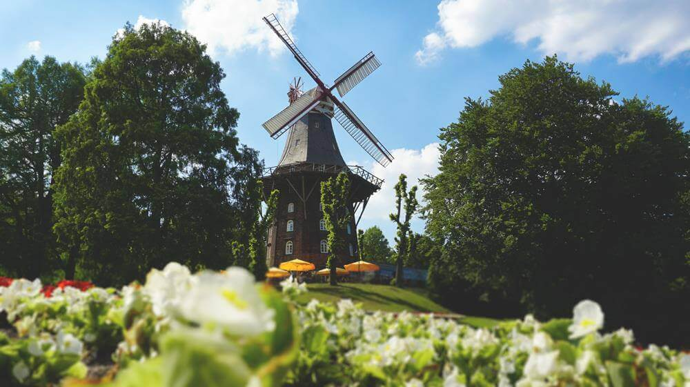 Bremen-Wallanlage-Stadgraben-Kaffeemuehle