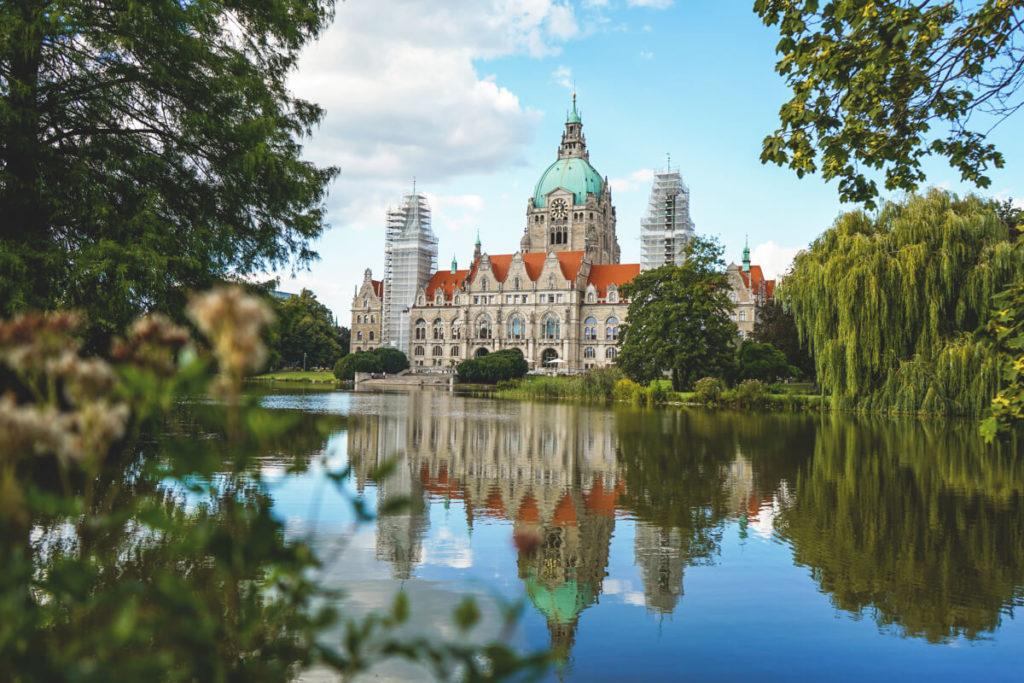 Hannover Sehenswürdigkeiten Neues Rathaus Maschpark