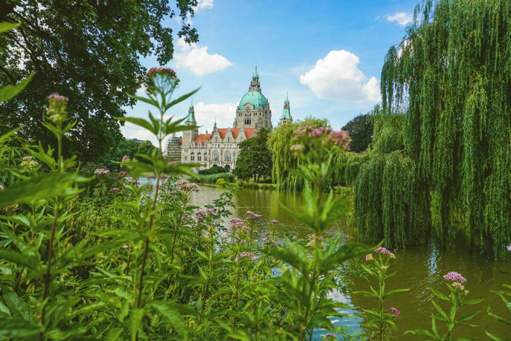 Hannover Tipps Maschpark Neues Rathaus