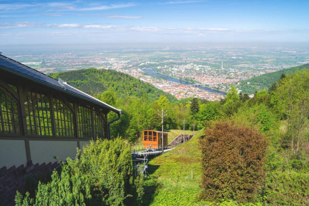 Heidelberg-Highlights-Bergbahn-Koenigstuhl