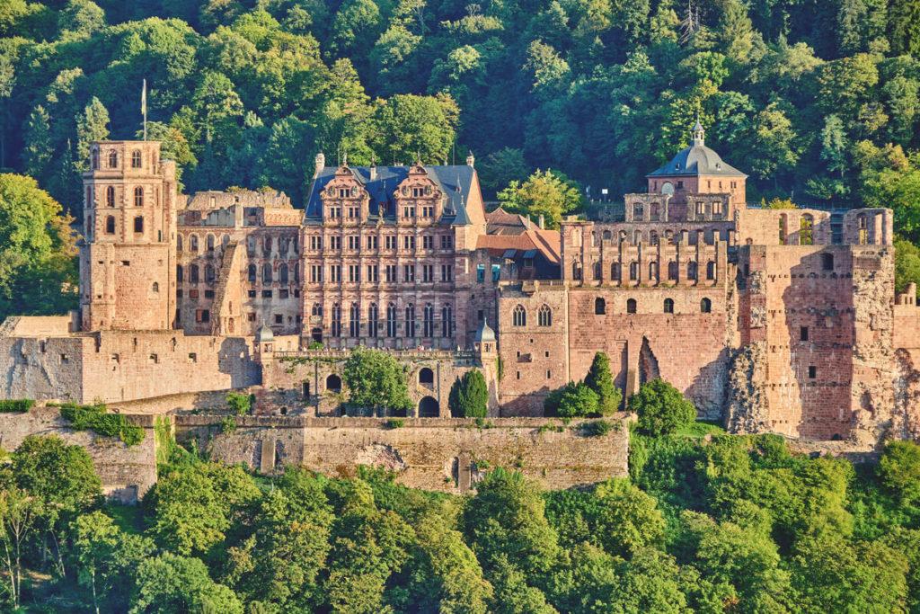 Heidelberg Sehenswürdigkeiten Schloss Nahaufnahme