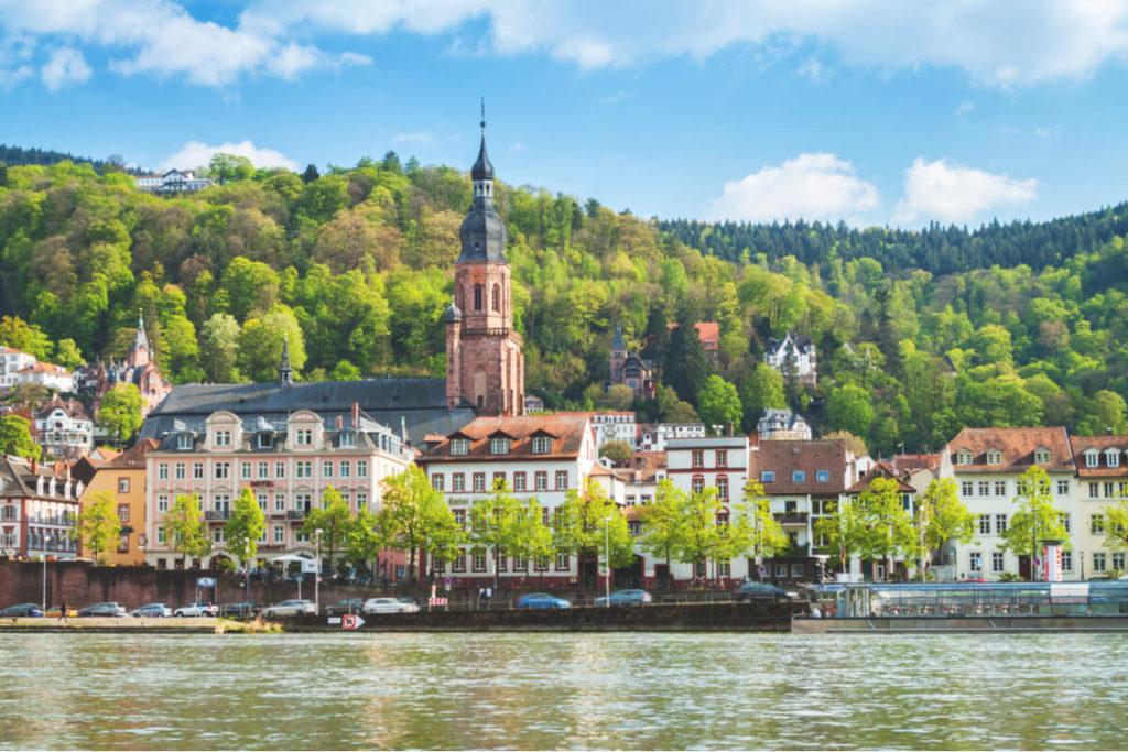 Heidelberg Sehenswürdigkeiten  Heiliggeistkirche