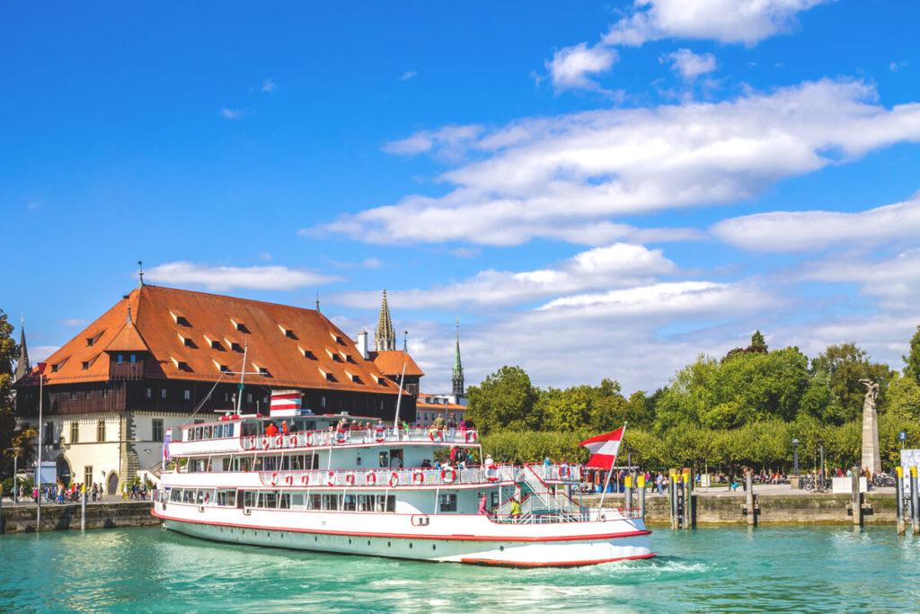 Konzil-Hafen.Kosntanz-Bodensee-Boote
