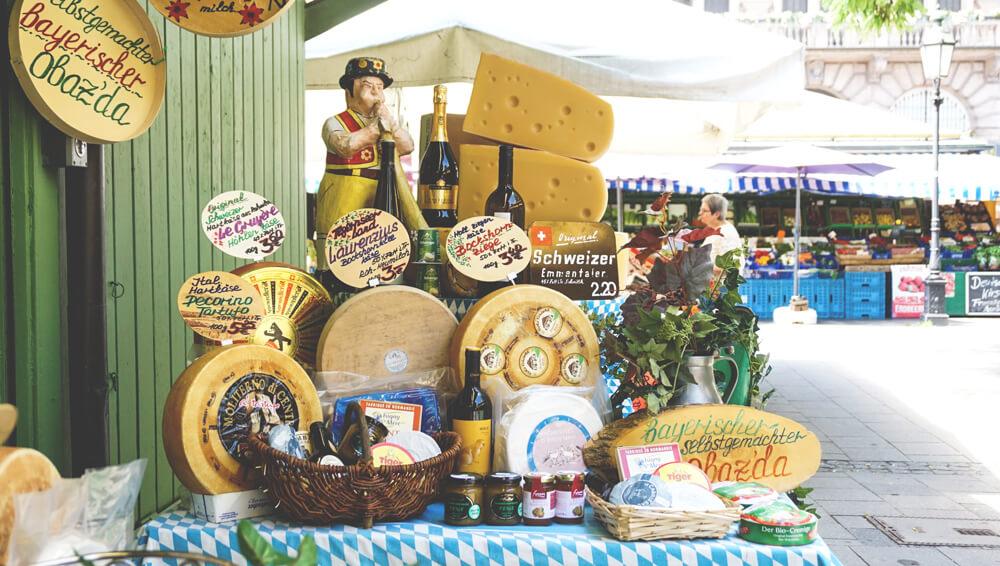 Markt-Muenchen-Innenstadt-Viktualienmarkt-Feinschmecker