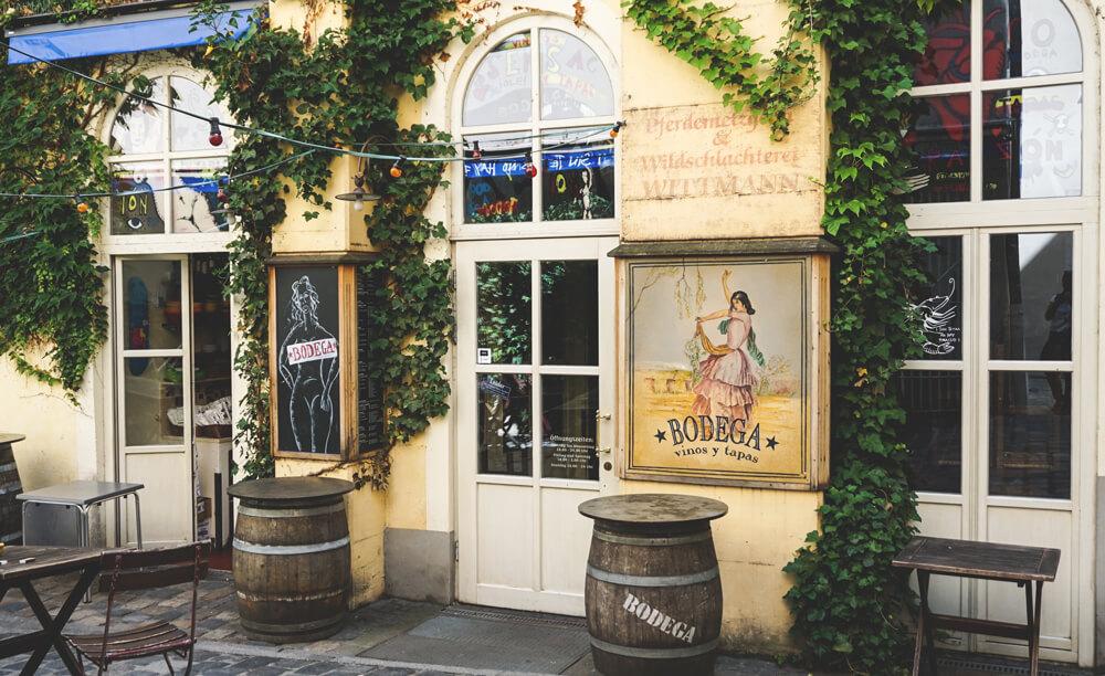 Regensburg-Altstadt-Bodega-Gassen-Bayern