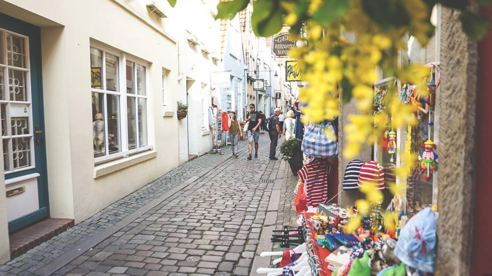 Schnoor-Bremen-Schnoorviertel-Innenstadt