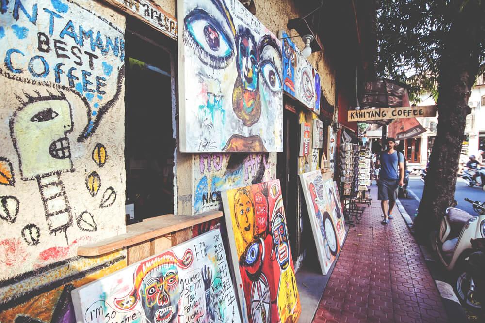 Shopping-Ubud-Bali-Indonesien-Kunst-Art