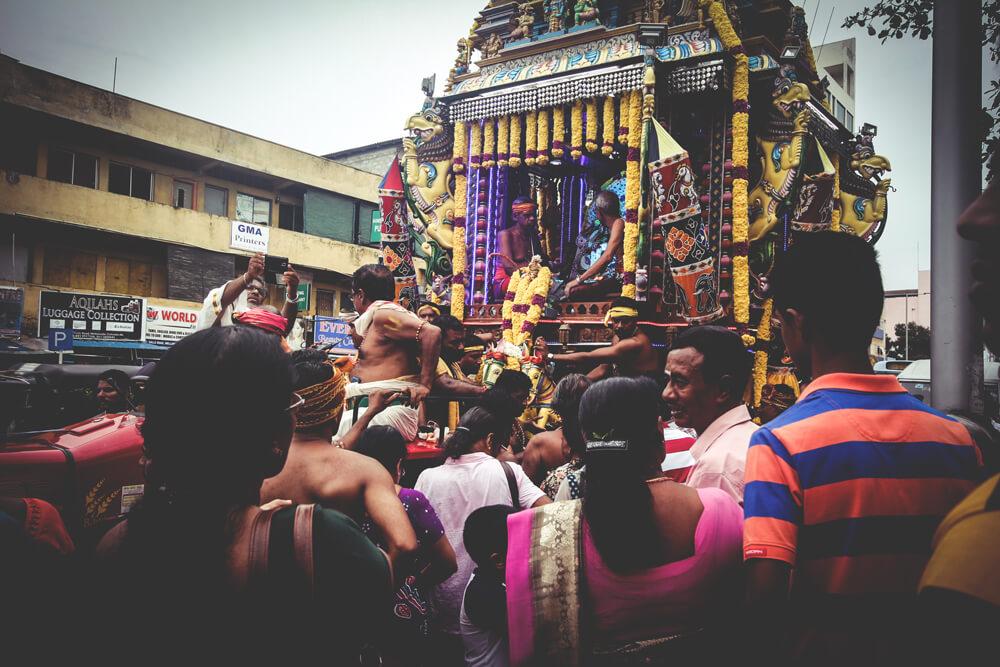 Sri-Lanka-Colombo-Religion-Fest-Zeremonie-Strassenfest