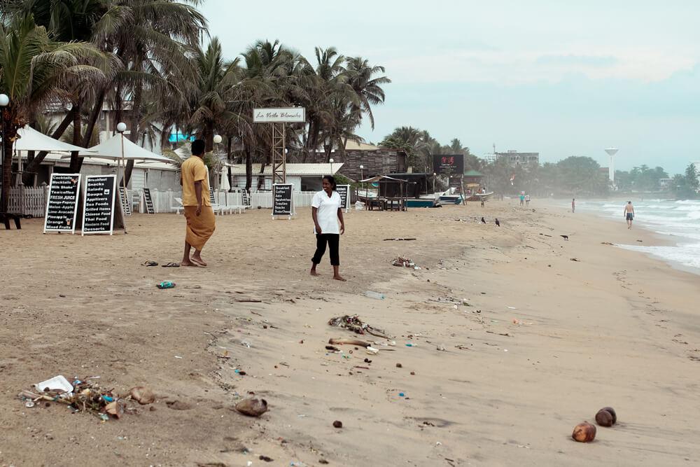 Sri-Lanka-Strand-Dreck-Colombo-Stadt