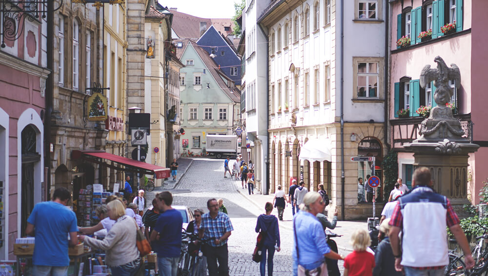 Stadt-Bamberg-Altstadt-Obere-Strasse-Bayern-Geheimtipps-Tipps