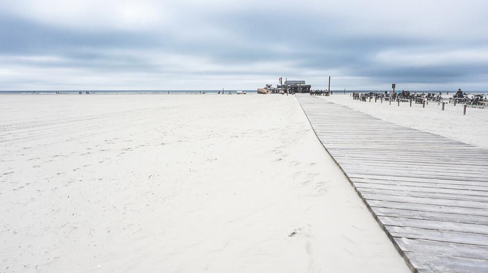 Strand-Steg-St-Peter-Ording-Nordsee-Beach