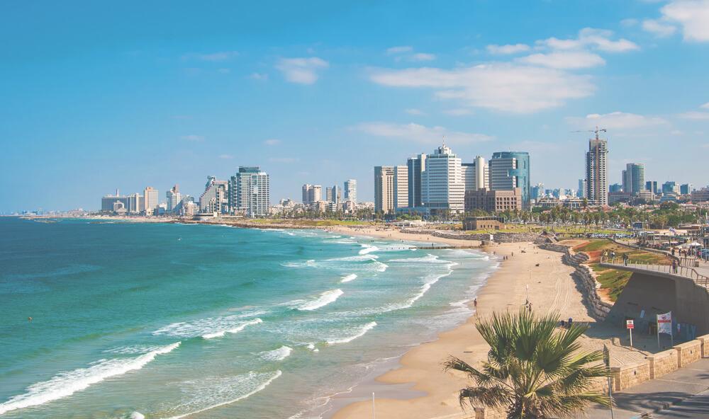 Tel-Aviv-Sehenswuerdigkeiten-Strand-Israel