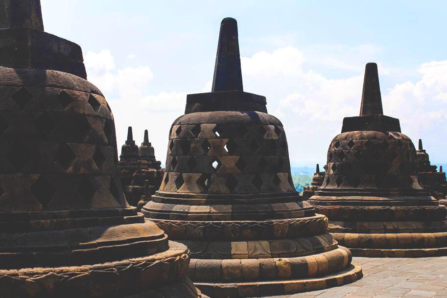Tempel-Borobodur-Yogjakarta-Indonesien-Rundreise-Zug