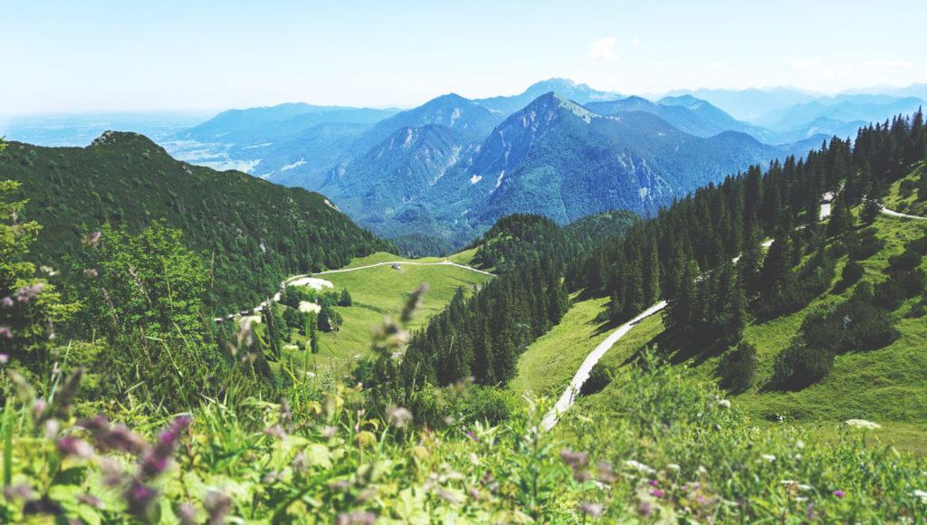 Walchensee-Bayern-Alpen-Wanderung-Panorama