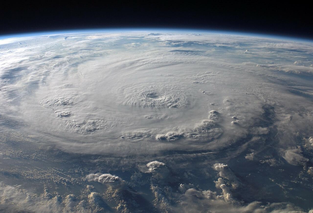 Zyklon Mauritius Tropischer Wirbelsturm
