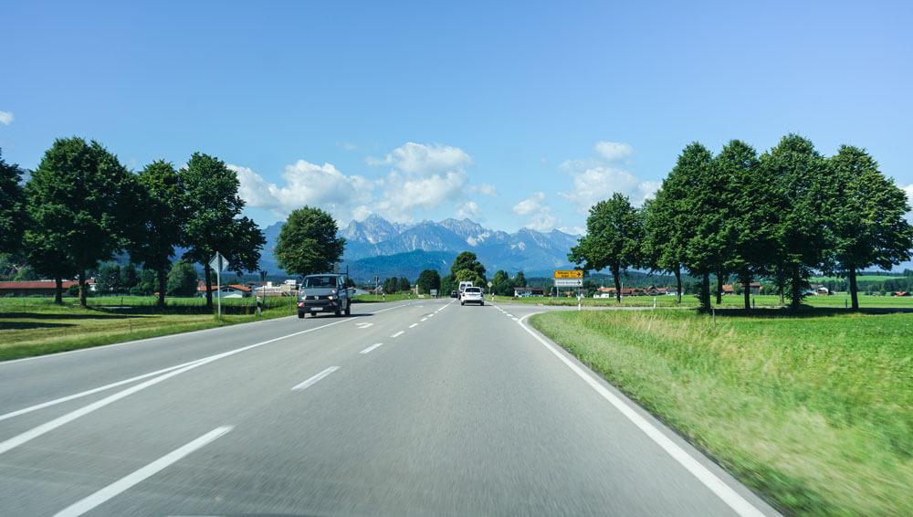 anfahrt-anreise-fuessen-hohenschwangau-alpen