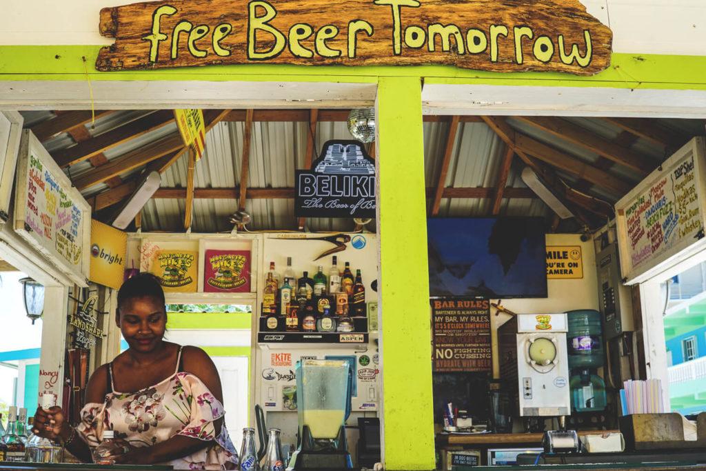 Belize Kosten Essen und Trinken Restaurant