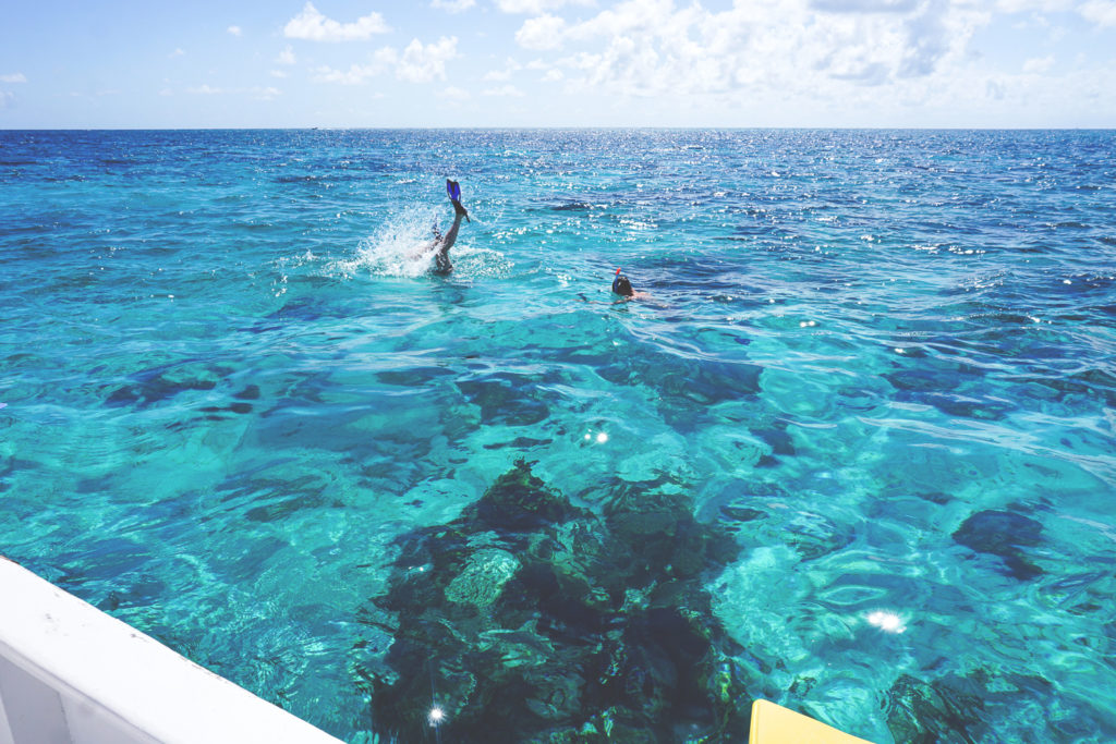 caye-caulker-belize-schnorcheln-segelboot-tour