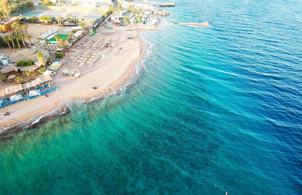 israel-eilat-rotes-meer-drohne-korallen-strand