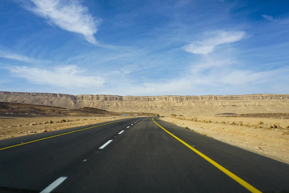 negev-wueste-israel-ramon-krater-anfahrt