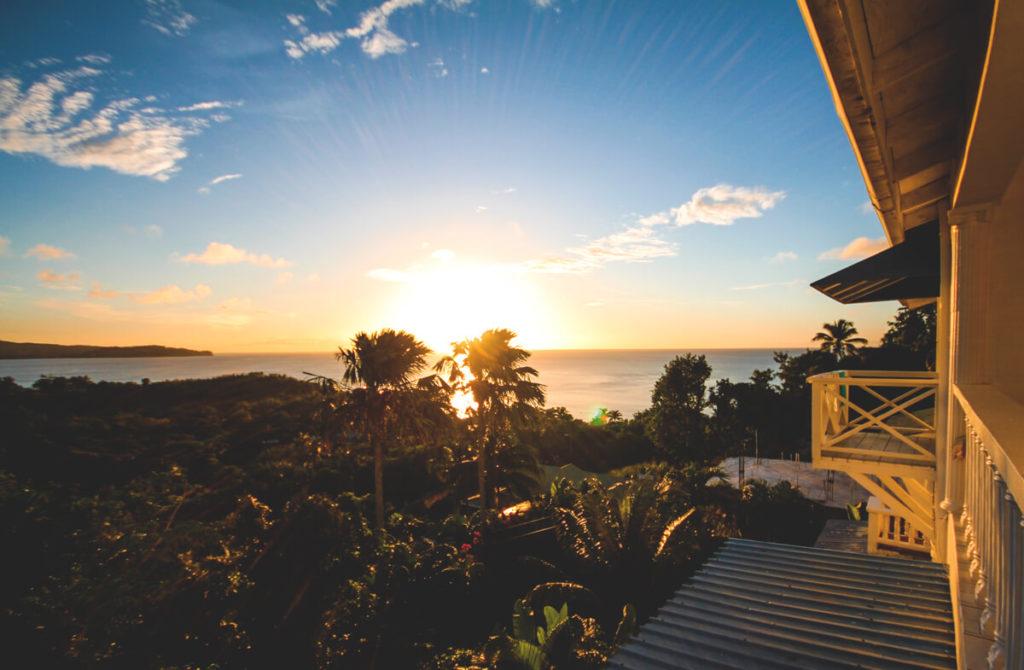 saint-lucia-karibik-unterkunft-apartment-espoir-balkon-aussicht