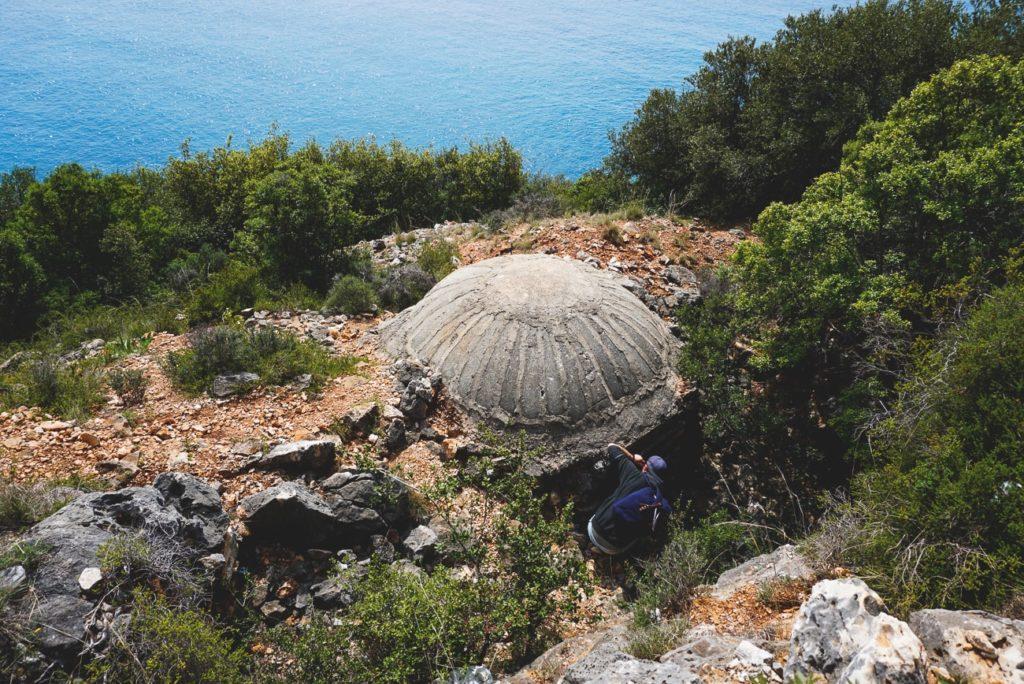 Albanien-Urlaub-Bunker