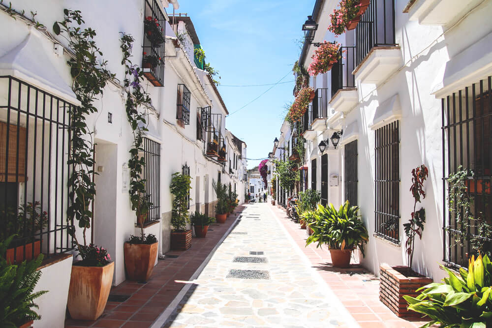 Altstadt-Marbella-Andalusien-Spanien
