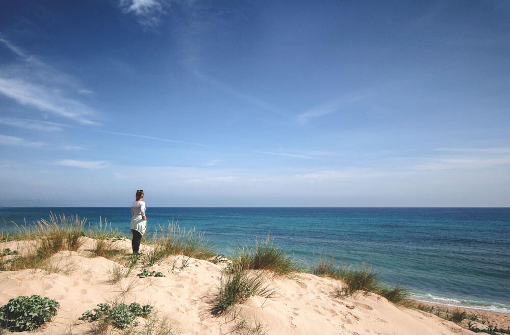 Cape-Trafagar-Andalusien-Spanien-Strand