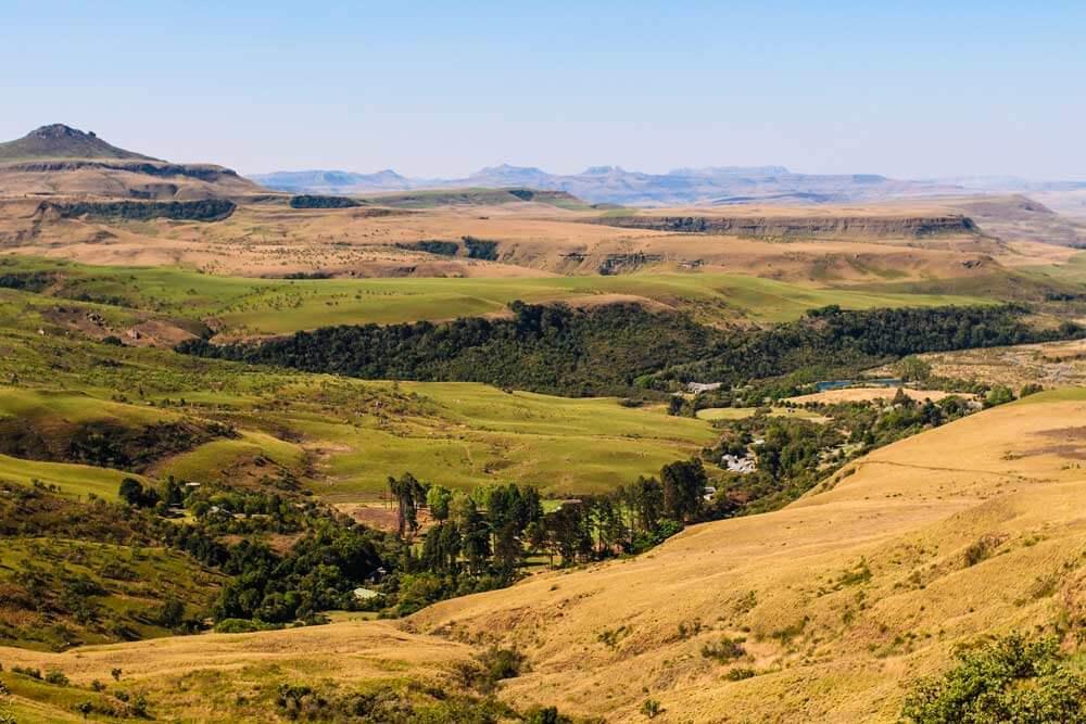 Drakensberge-Landschaft-Suedafrika-Rundreise-Royal-Natal-Park