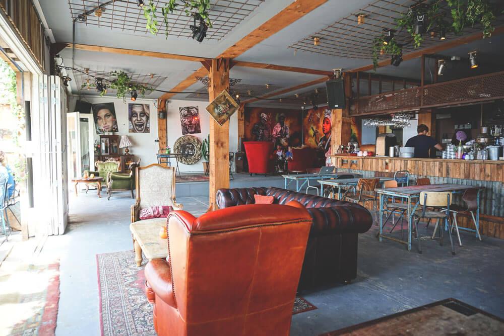 Haarlem-Niederlande-Nordsee-Strand-Bloemendaal-Woodstock-Bar
