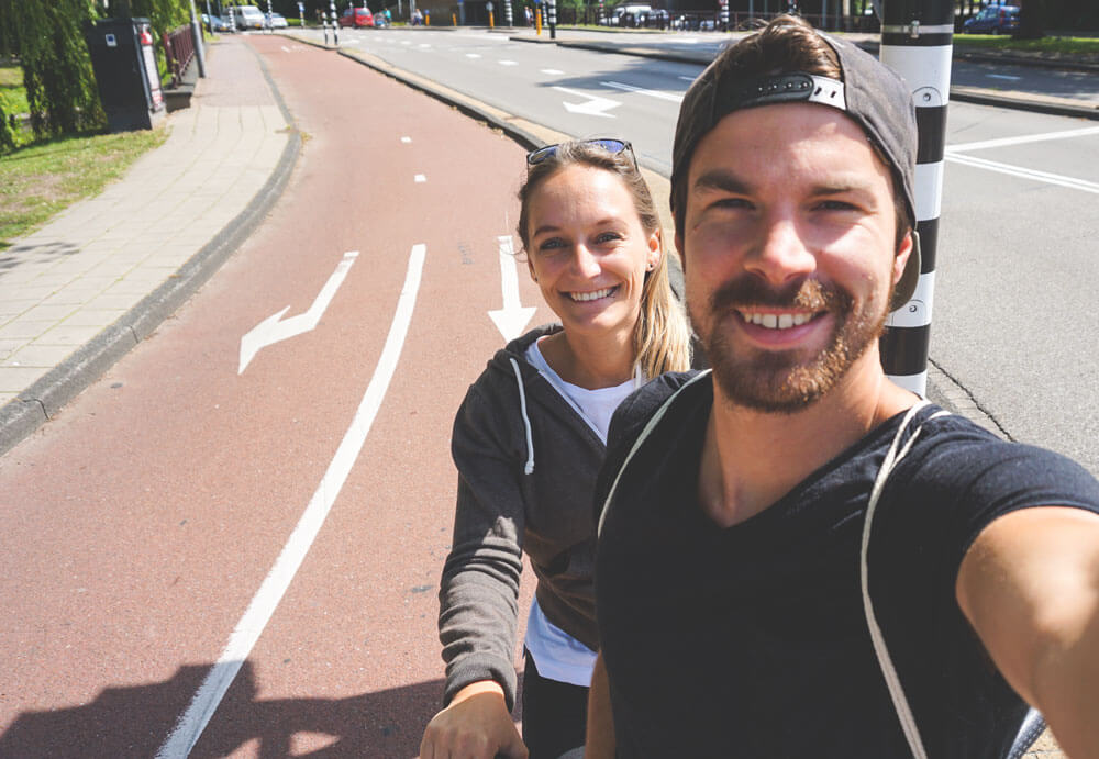 Haarlem-Niederlande-Tandem-Fahrrad-Verleih
